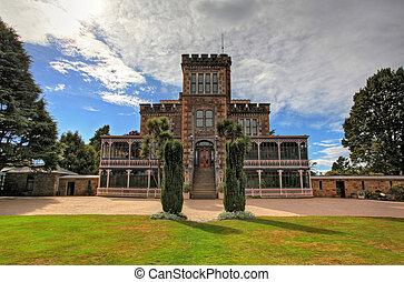 castello, e, giardini