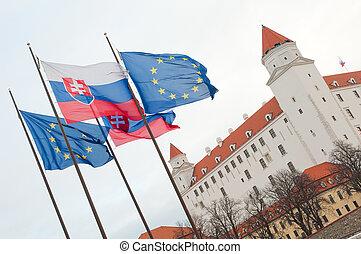 castello, europeo, bratislava