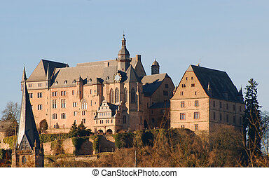 castello, germania, marburg