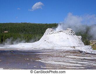 castello, geyser