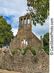 castello, malahide, rovine, irlanda, chiesa