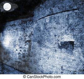 castello, notte