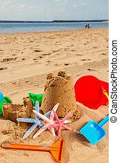 castello sabbia, spiaggia