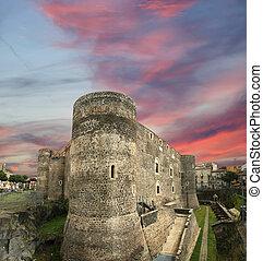 Castello Ursino is a castle in Catania, Sicily, southern...