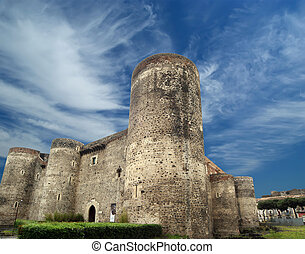 Castello Ursino is a castle in Catania, Sicily, southern...