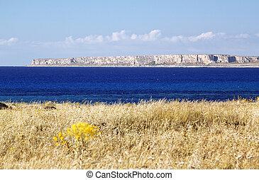 Castelluzzo quater - Capo San Vito view from Castelluzzo...