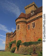 Castelnau Castle , dungeon,