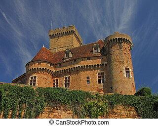 Castelnau Castle fortification,