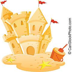 castelo areia