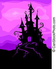 castelo, assombrado