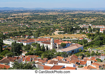 Castelo Branco, Centro region, Portugal - View from the ...