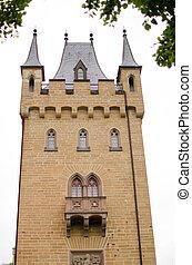 castel's, tour, hohenzollern