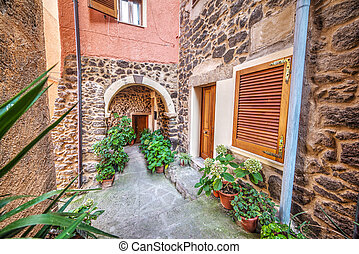 castelsardo, vicolo, pittoresco