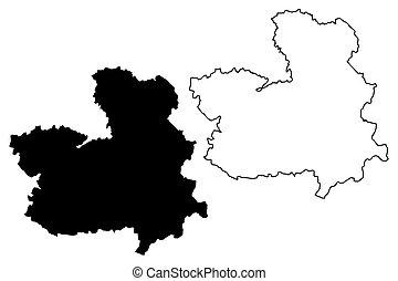 Castilla La Mancha map - Castilla La Mancha (Kingdom of...