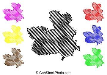 Castilla La Mancha map - Castilla-La Mancha (Kingdom of...