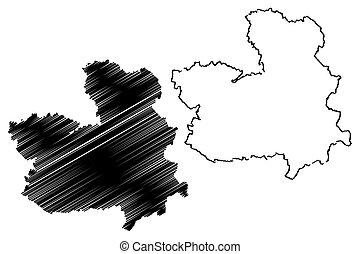 Castilla?La Mancha map - Castilla?La Mancha (Kingdom of...