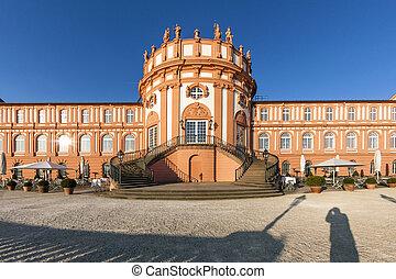 castillo, biebrich, famoso