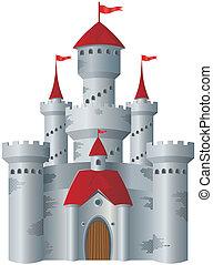 castillo, cuento de hadas