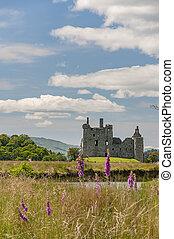 castillo de kilchurn, en, escocia