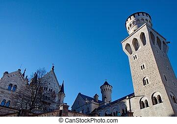 castillo de neuschwanstein, alemania, munich