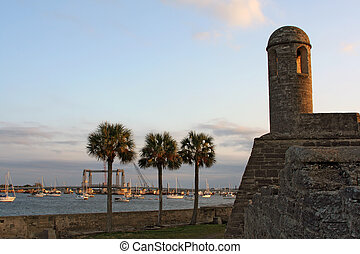 Castillo de San Marcos - castillo de san marcos in st....