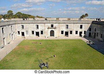 Castillo de San Marcos - Castle of San Marcos historic St....