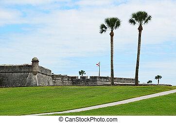 Castillo de San Marcos - Castle of San Marcos at Historic...