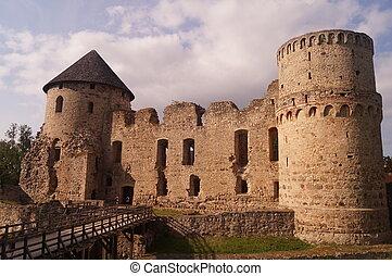 castillo, en, naturaleza