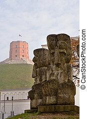 castillo, gediminas, vilnius