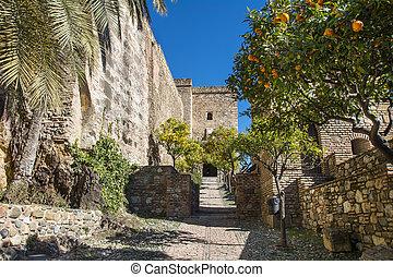 castillo, morisco, málaga, españa
