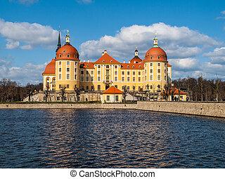 castillo,  moritzburg