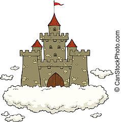 castillo, nube