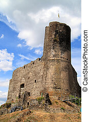 castillo, ruinas, en, alemania