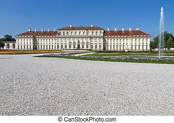 """castillo, """"schleissheim"""", alemania, munich"""