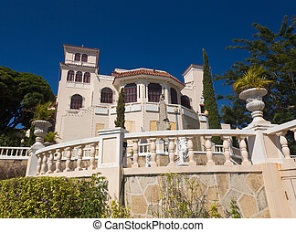 Castillo Serralles in Ponce - Old castle in Ponce known as...