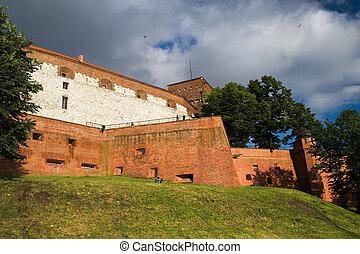 castillo, wawer, real, fortificaciones