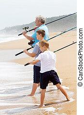 casting fishing lines