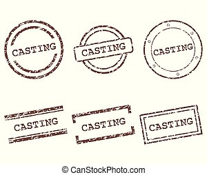 Casting stamps