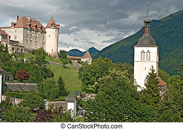 castle at Switzerland
