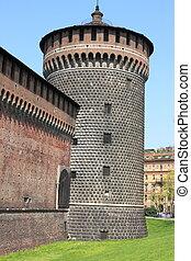 Castle bastion