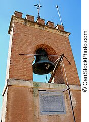 Castle bell tower, Granada.