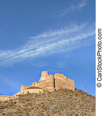 Castle Biar in Costa Blanca Spain