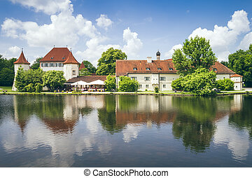 Castle Blutenburg Bavaria Germany - The Castle Blutenburg in...
