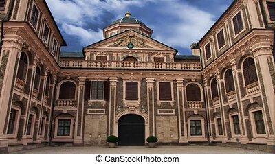 Castle built by J M L Rohrer, 1730