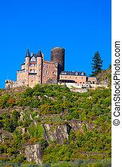 """Castle """"Burg Katz"""" in Germany"""
