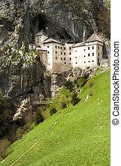 Castle carved in rock, Predjama, Slovenia