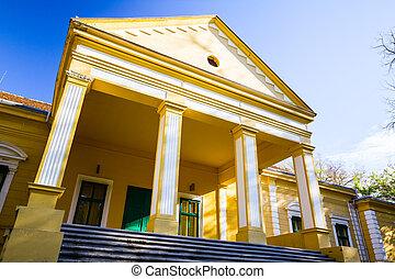 """Castle """"Damaskin"""" in Hajdu?ica, Vojvodinia."""