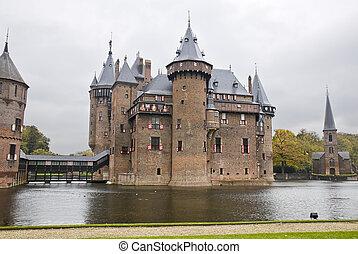 Castle De Haar in Netherlands - Castle De Haar near...