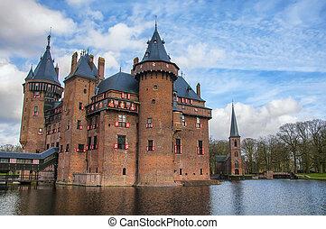 Castle De Haar in the province of Utrecht