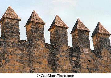 Castle detail